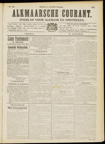 Alkmaarsche Courant 1912-08-16