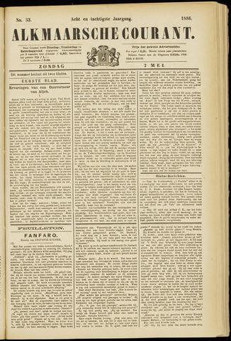 Alkmaarsche Courant 1886-05-02