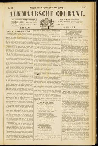 Alkmaarsche Courant 1897-03-26