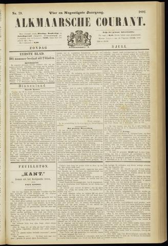 Alkmaarsche Courant 1892-07-03