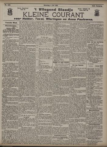 Vliegend blaadje : nieuws- en advertentiebode voor Den Helder 1908-07-04