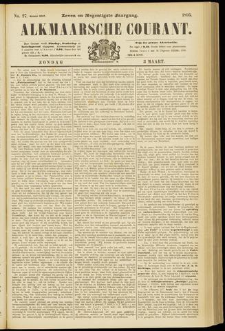 Alkmaarsche Courant 1895-03-03