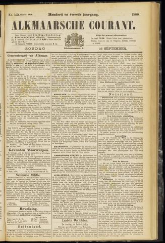 Alkmaarsche Courant 1900-09-16