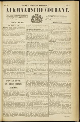 Alkmaarsche Courant 1894-08-08
