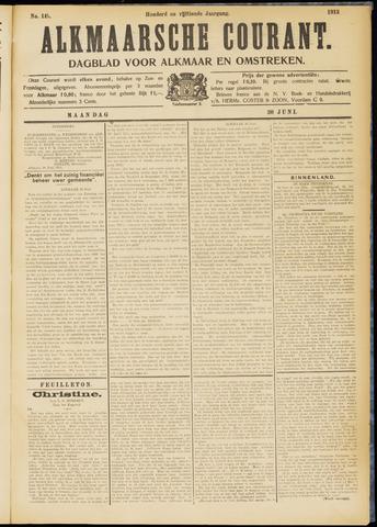 Alkmaarsche Courant 1913-06-30