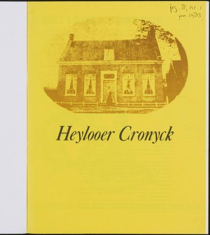 Heylooer Cronyck 1983-01-01