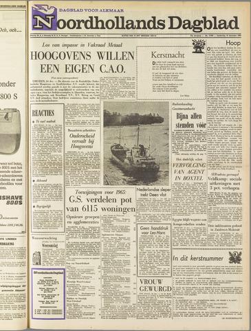 Noordhollands Dagblad : dagblad voor Alkmaar en omgeving 1964-12-24
