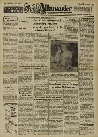 De Vrije Alkmaarder 1949-08-12