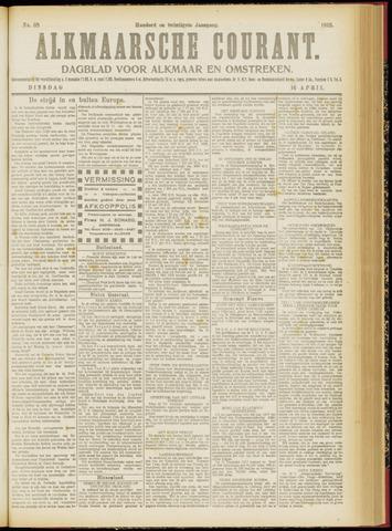 Alkmaarsche Courant 1918-04-16