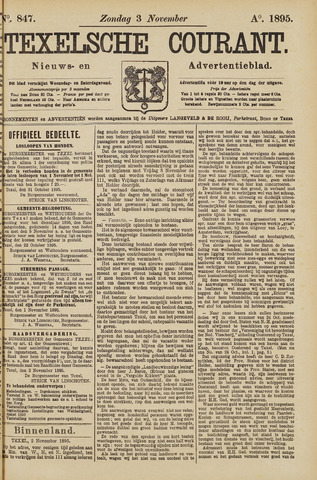 Texelsche Courant 1895-11-03