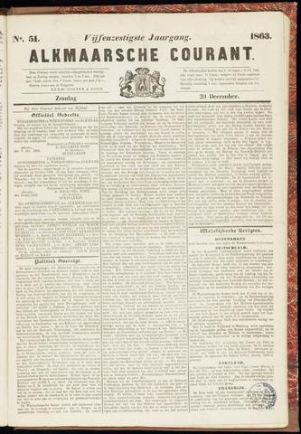 Alkmaarsche Courant 1863-12-20