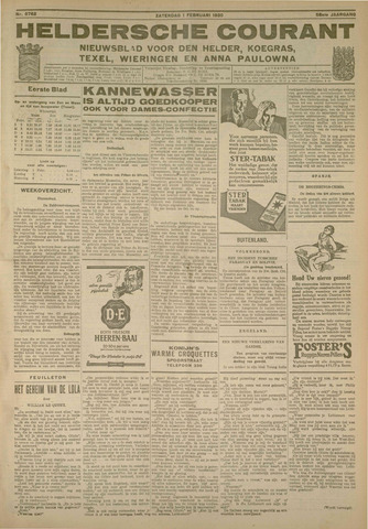 Heldersche Courant 1930-02-01