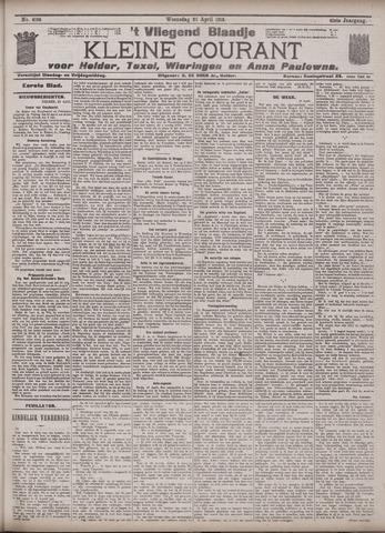 Vliegend blaadje : nieuws- en advertentiebode voor Den Helder 1913-04-23