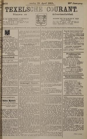 Texelsche Courant 1915-04-25