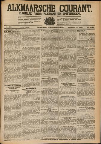 Alkmaarsche Courant 1930-09-18