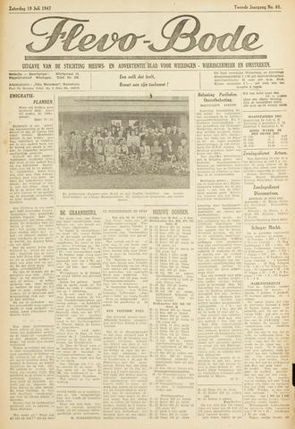 Flevo-bode: nieuwsblad voor Wieringen-Wieringermeer 1947-07-19