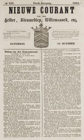 Nieuwe Courant van Den Helder 1864-10-15