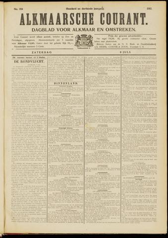Alkmaarsche Courant 1911-07-08
