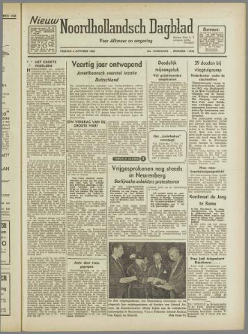 Nieuw Noordhollandsch Dagblad : voor Alkmaar en omgeving 1946-10-04