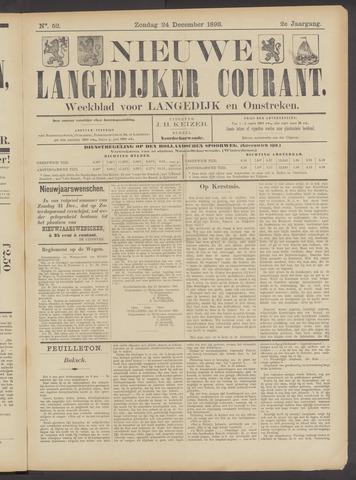 Nieuwe Langedijker Courant 1893-12-24