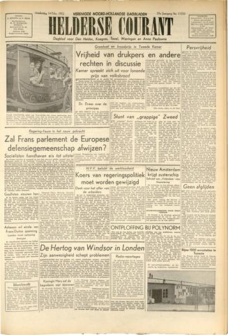 Heldersche Courant 1952-02-14