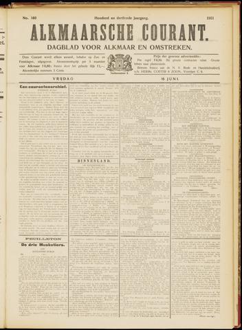 Alkmaarsche Courant 1911-06-16