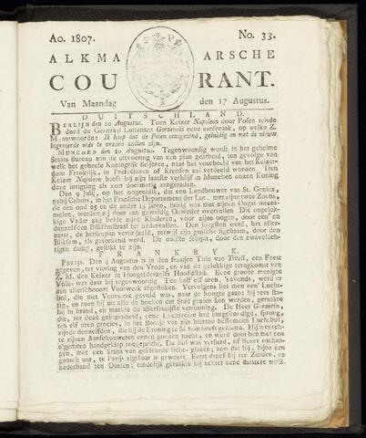 Alkmaarsche Courant 1807-08-17