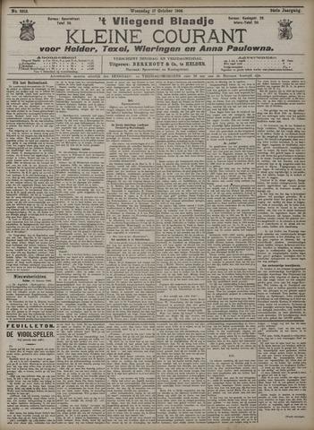 Vliegend blaadje : nieuws- en advertentiebode voor Den Helder 1906-10-17