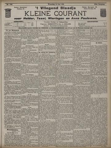 Vliegend blaadje : nieuws- en advertentiebode voor Den Helder 1909-06-16