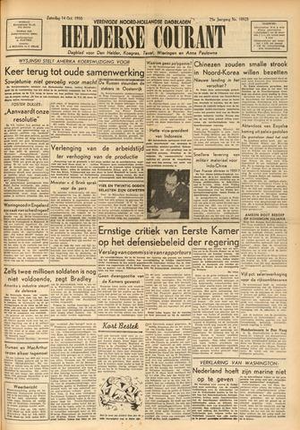 Heldersche Courant 1950-10-14