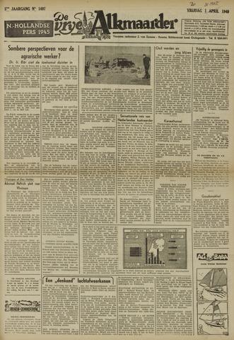 De Vrije Alkmaarder 1949-03-31