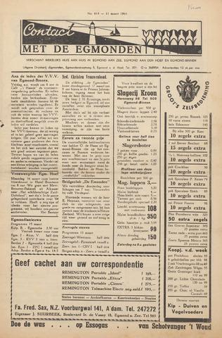 Contact met de Egmonden 1964-03-12