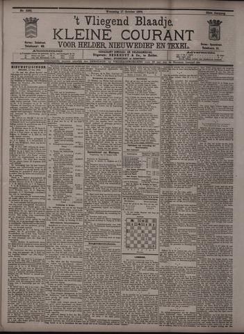Vliegend blaadje : nieuws- en advertentiebode voor Den Helder 1894-10-17
