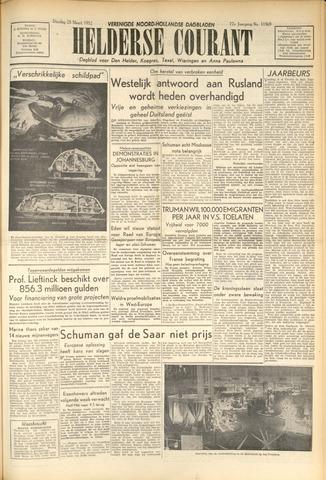 Heldersche Courant 1952-03-25