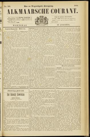 Alkmaarsche Courant 1894-08-22