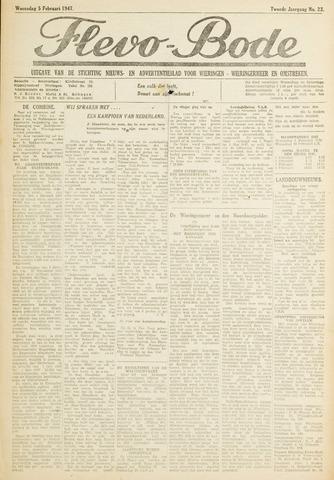 Flevo-bode: nieuwsblad voor Wieringen-Wieringermeer 1947-01-05