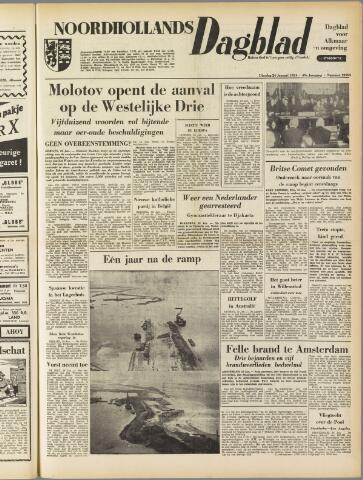 Noordhollands Dagblad : dagblad voor Alkmaar en omgeving 1954-01-26