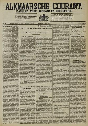Alkmaarsche Courant 1937-05-04