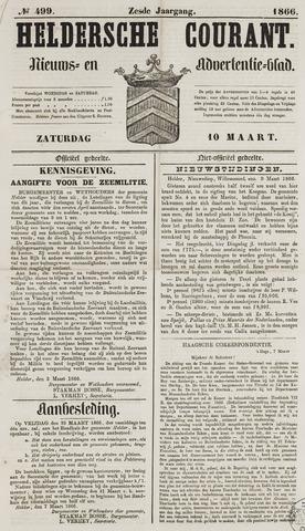Heldersche Courant 1866-03-10
