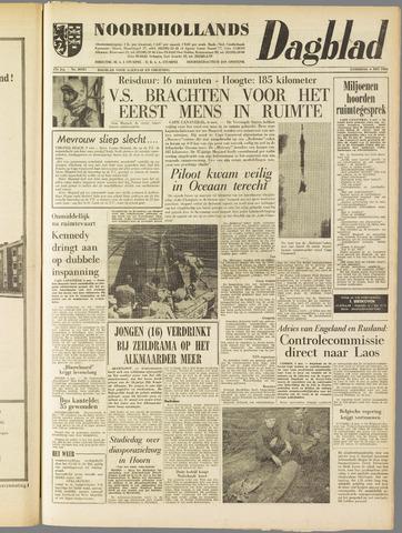 Noordhollands Dagblad : dagblad voor Alkmaar en omgeving 1961-05-06
