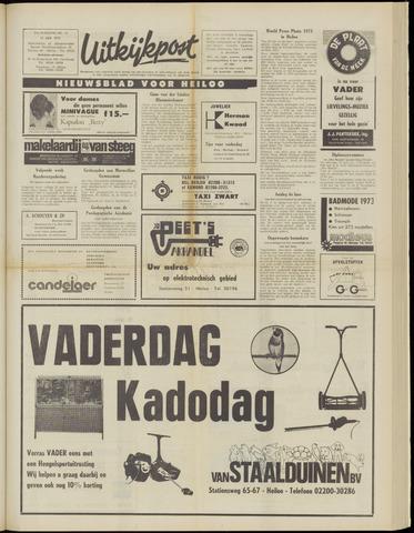 Uitkijkpost : nieuwsblad voor Heiloo e.o. 1973-06-13