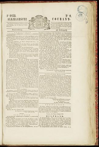Alkmaarsche Courant 1852-02-23