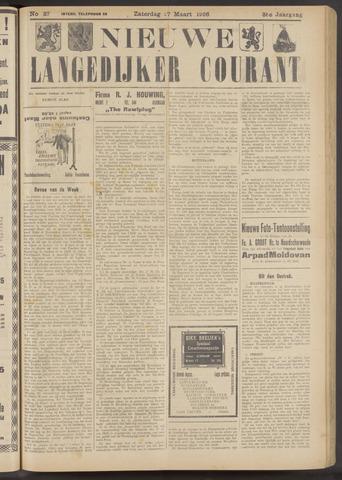Nieuwe Langedijker Courant 1926-03-27