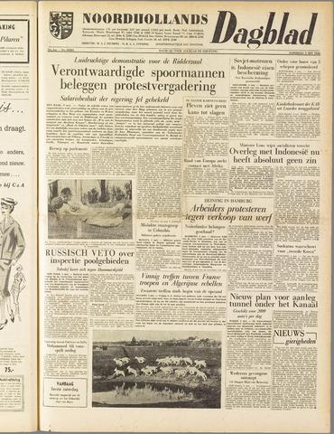 Noordhollands Dagblad : dagblad voor Alkmaar en omgeving 1958-05-03