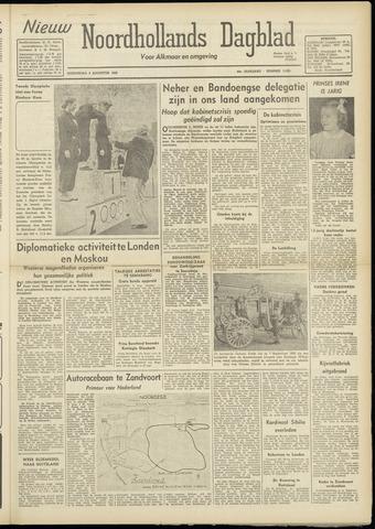 Nieuw Noordhollandsch Dagblad : voor Alkmaar en omgeving 1948-08-05