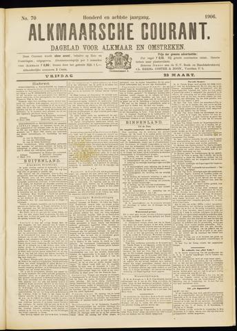 Alkmaarsche Courant 1906-03-23