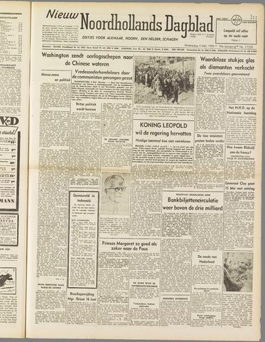 Nieuw Noordhollandsch Dagblad : voor Alkmaar en omgeving 1949-05-04