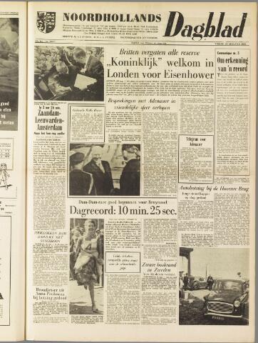 Noordhollands Dagblad : dagblad voor Alkmaar en omgeving 1959-08-28