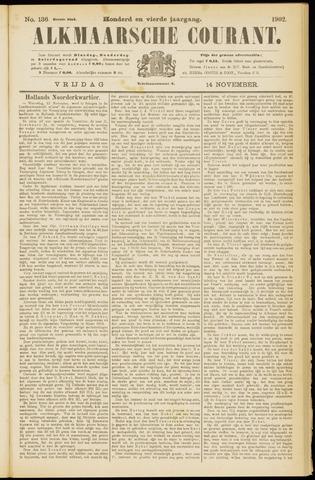 Alkmaarsche Courant 1902-11-14