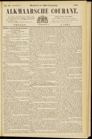 Alkmaarsche Courant 1903-06-05